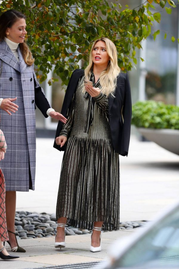 Hilary Duff Filming Younger in NYC 60