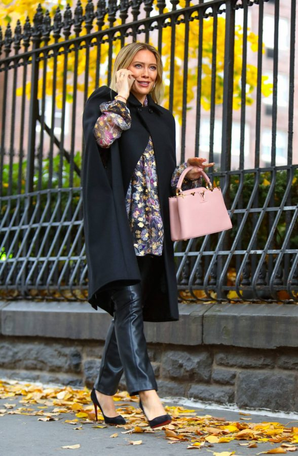 Hilary Duff Filming Younger in NYC 61