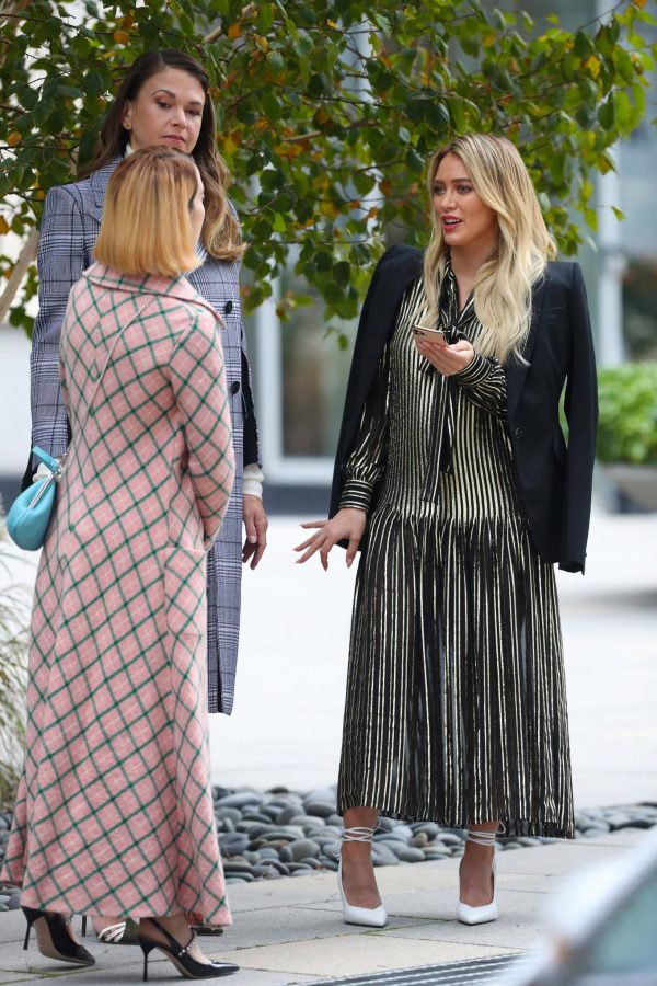 Hilary Duff Filming Younger in NYC 64