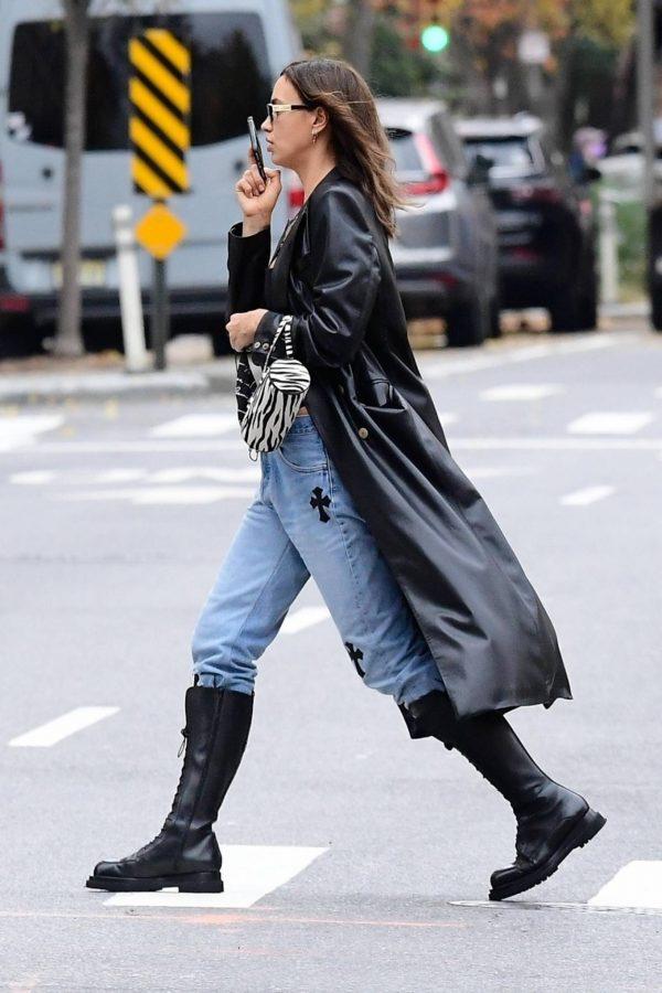 Irina Shayk Seen out in NYC 01