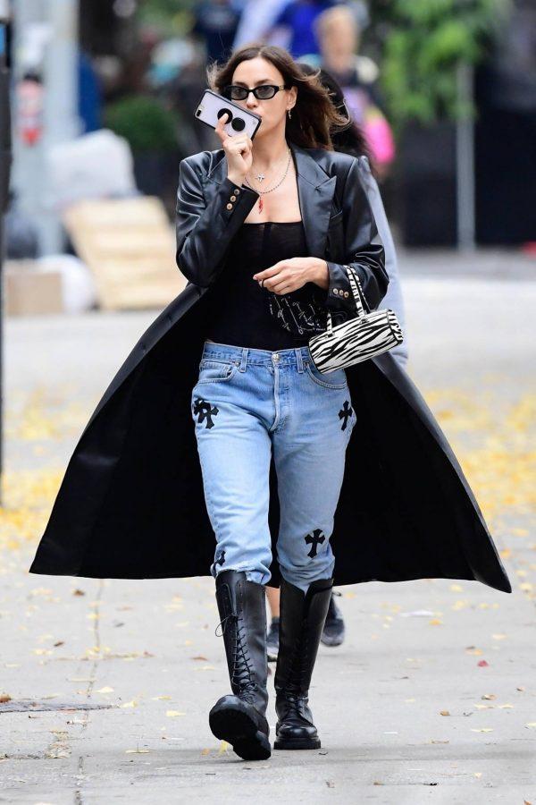 Irina Shayk Seen out in NYC 05