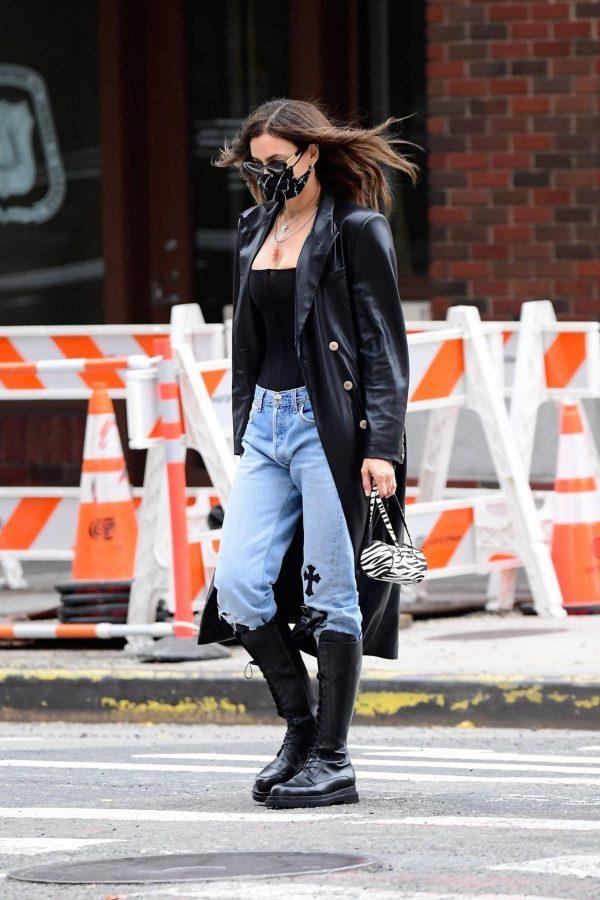 Irina Shayk Seen out in NYC 09