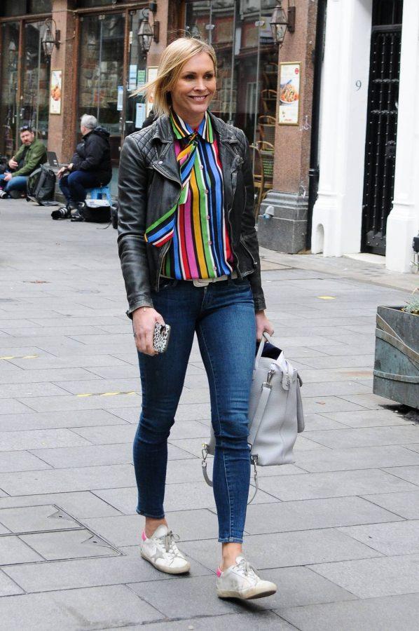 Jenni Falconer Leaving Global Studios Smooth FM in London 01