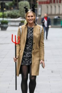 Jenni Falconer Spotted at Global Radio Studios in London 01