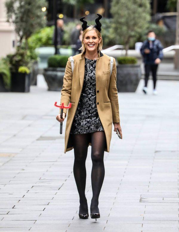 Jenni Falconer Spotted at Global Radio Studios in London 02