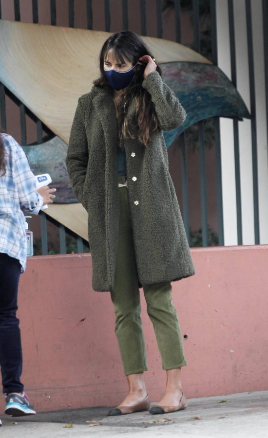 Jordana Brewster Spotted while out in Santa Monica 01
