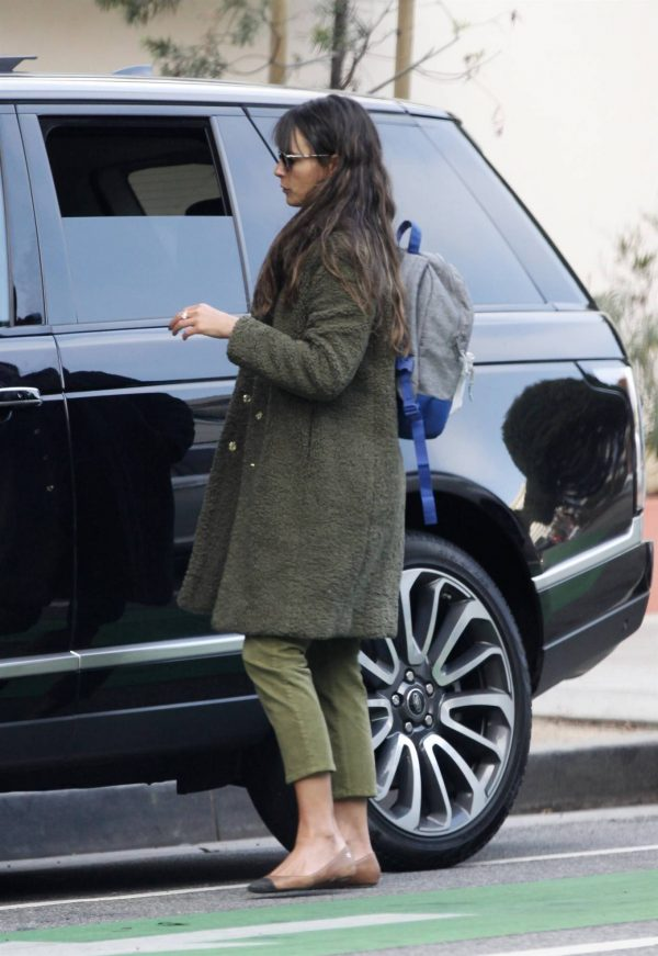 Jordana Brewster Spotted while out in Santa Monica 03