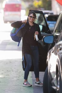 Jordana Brewster out in Santa Monica 08