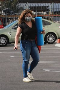 Justina Machado Heads into the DWTS studio in Los Angeles 08