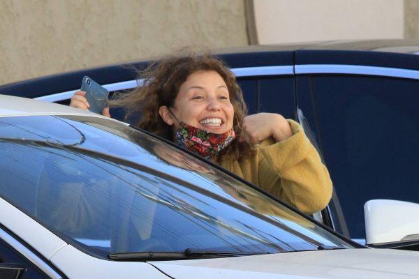Justina Machado Seen leaving the DWTS studio in LA 05
