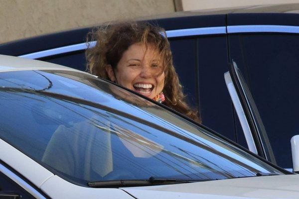 Justina Machado Seen leaving the DWTS studio in LA 07