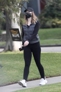 Katherine Schwarzenegger Pictured while out for a walk in Santa Monica 03