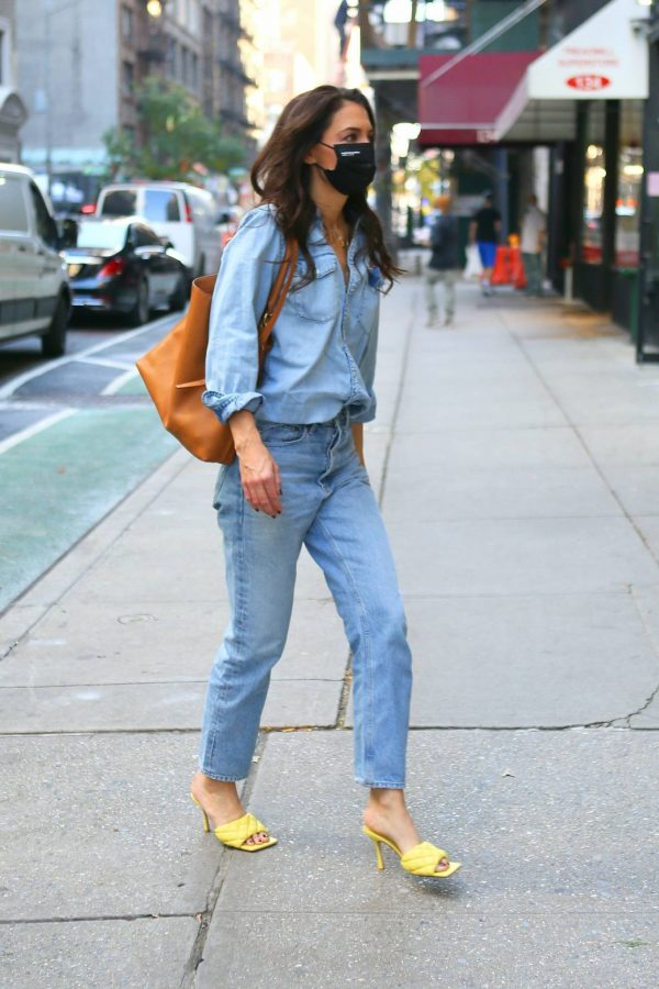 Katie Holmes Seen out in New York 07