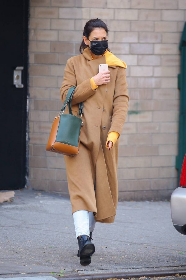 Katie Holmes Spotted while out in SoHo 11
