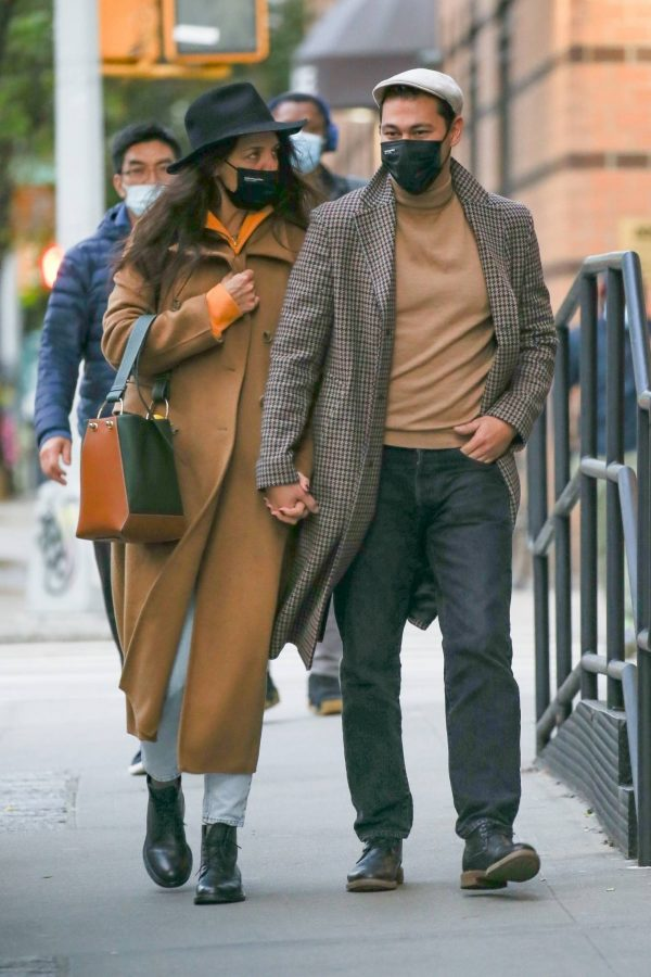 Katie Holmes Spotted while out in SoHo 12