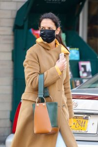 Katie Holmes Spotted while out in SoHo 19