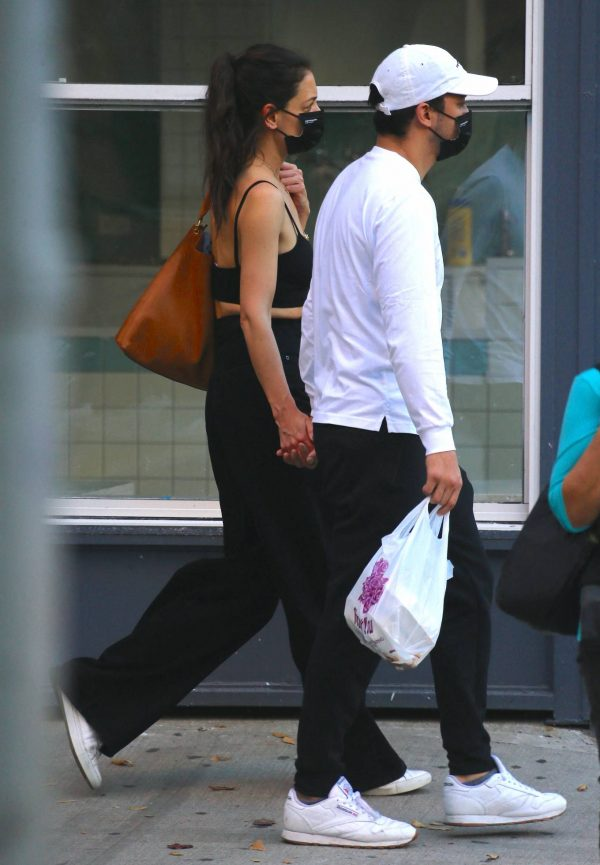 Katie Holmes with boyfriend seen out in New York 02