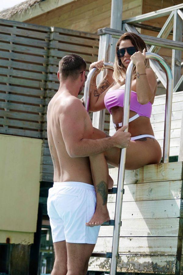 Katie Price In a bikini in the Maldives 08