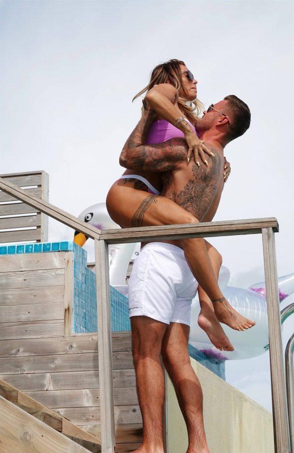 Katie Price In a bikini in the Maldives 14