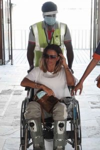Katie Price with boyfriend Carl Woods in the Maldives 03