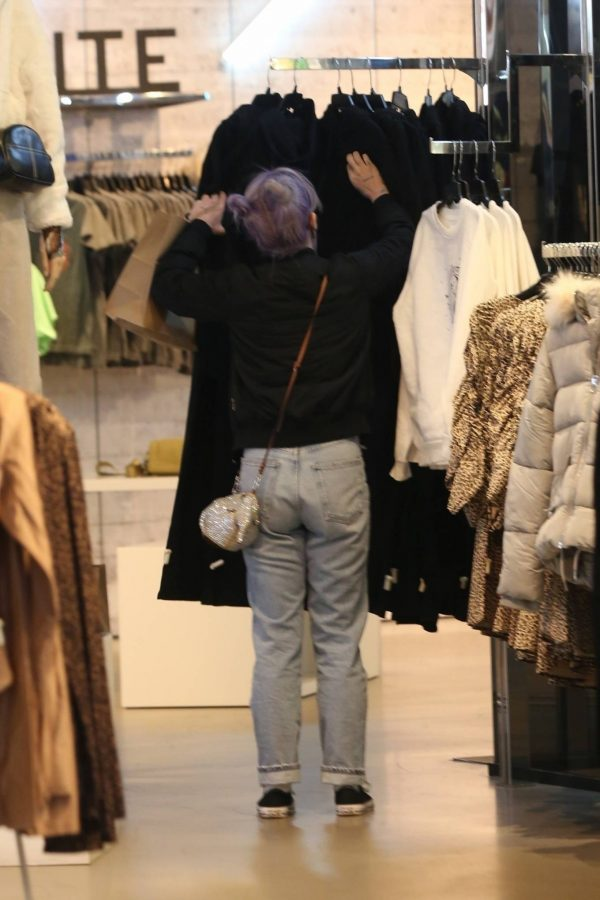 Kelly Osbourne Shopping candids with a friend at The Grove in Los Angeles 03