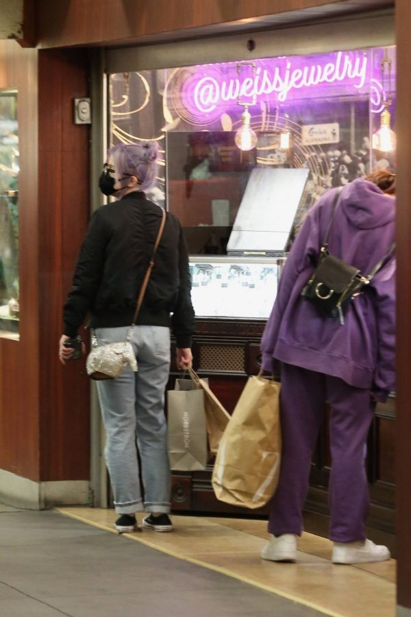 Kelly Osbourne Shopping candids with a friend at The Grove in Los Angeles 09