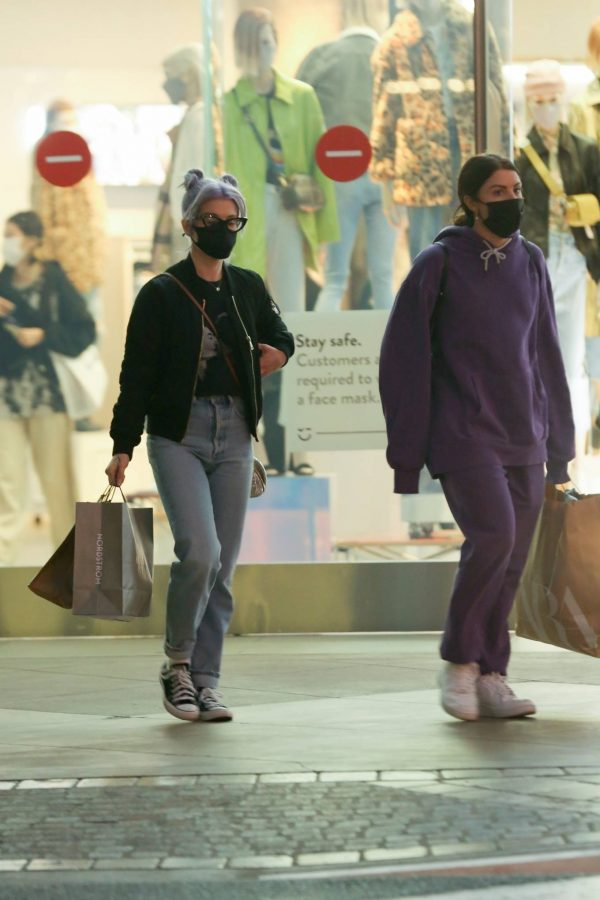 Kelly Osbourne Shopping candids with a friend at The Grove in Los Angeles 12