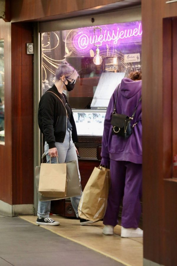 Kelly Osbourne Shopping candids with a friend at The Grove in Los Angeles 13