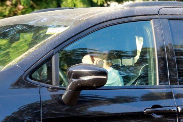Kristen Bell Wearing a Vote T Shirt in Los Feliz 11