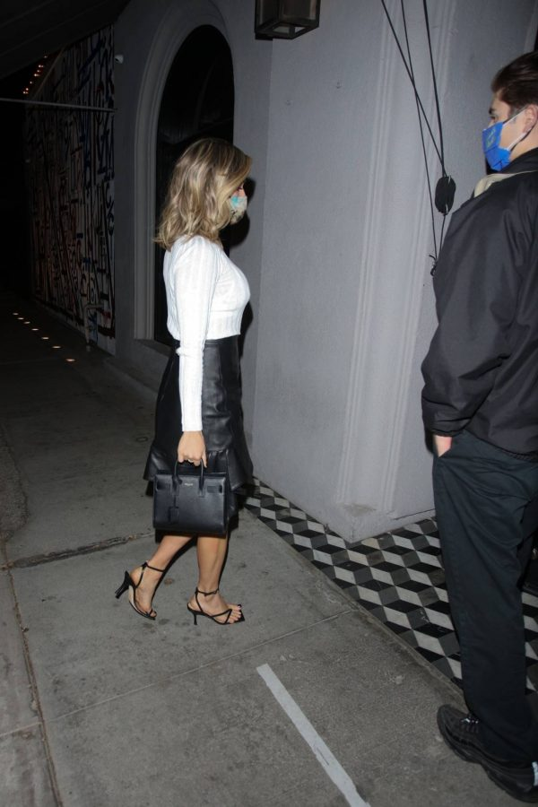 Kristin Cavallari Seen outside Craigs in West Hollywood 03