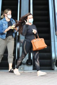 Kyle Richards Seen leaving a Nail Salon in Encino 22
