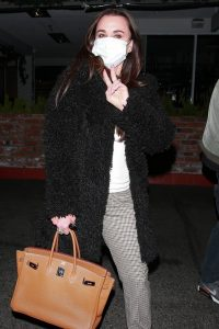 Kyle Richards and Lisa Vanderpump Seen at SHU Sushi House Unico in Bel Air 11