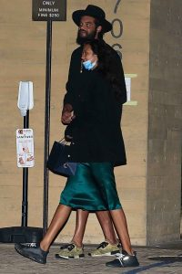 Lais Ribeiro Out for a date night at Nobu in Malibu 02