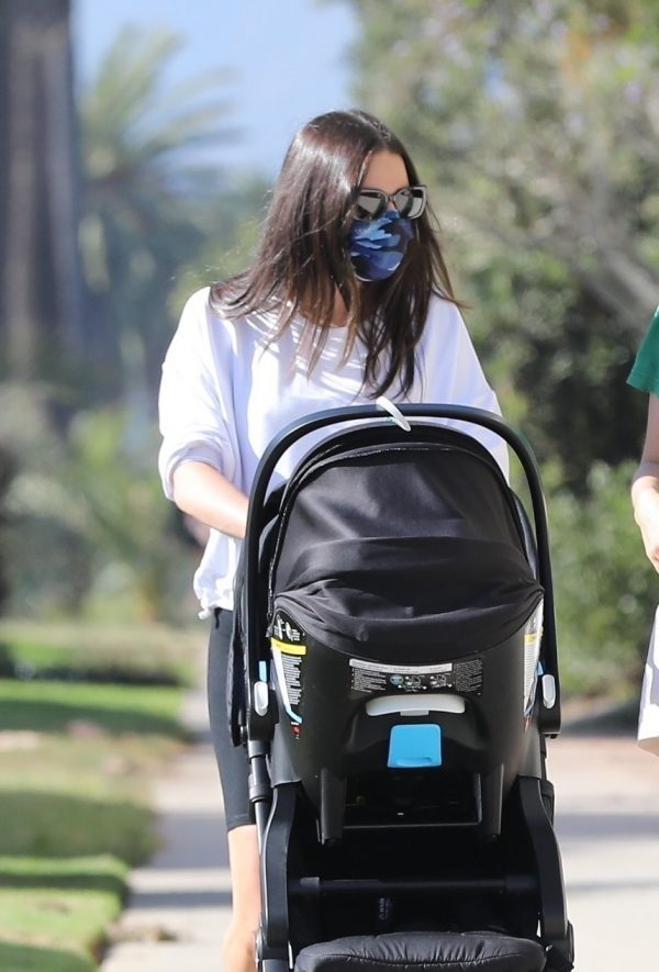 Lea Michele Seen out with her husband in Santa Monica 01