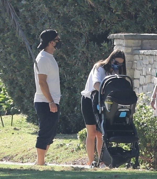 Lea Michele Seen out with her husband in Santa Monica 02