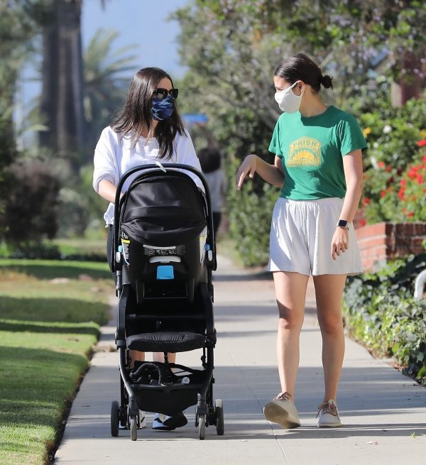 Lea Michele Seen out with her husband in Santa Monica 05