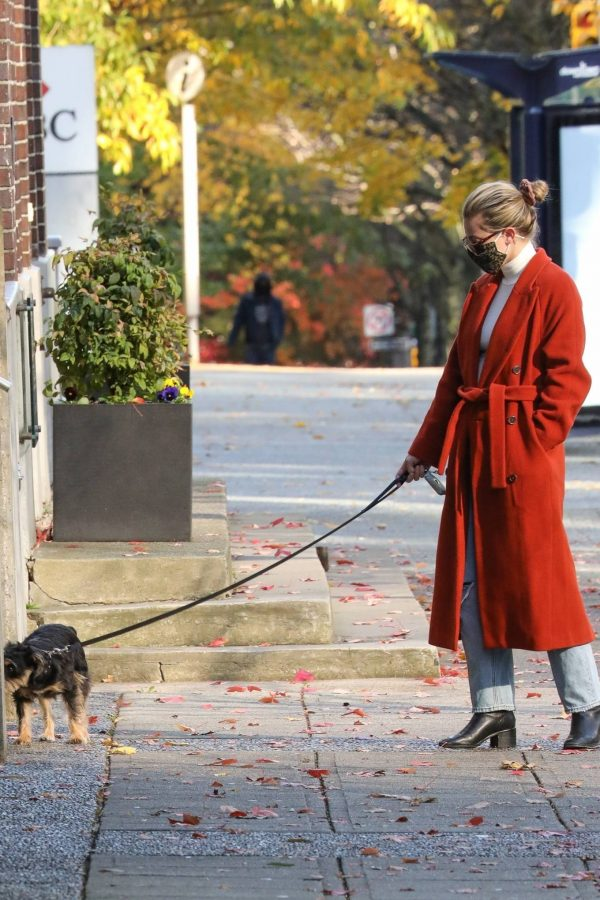 Lili Reinhart Out for a walk in Vancouver 13