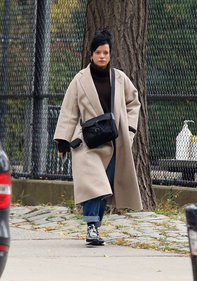 Lily Allen Out for a stroll in Manhattans Downtown area 07