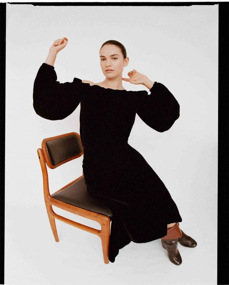 Lily James The Laterals Magazine Winter 2020 Issue 05 02