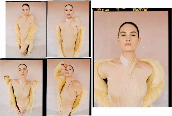 Lily James The Laterals Magazine Winter 2020 Issue 05 03