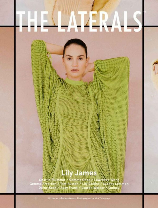 Lily James The Laterals Magazine Winter 2020 Issue 05 04