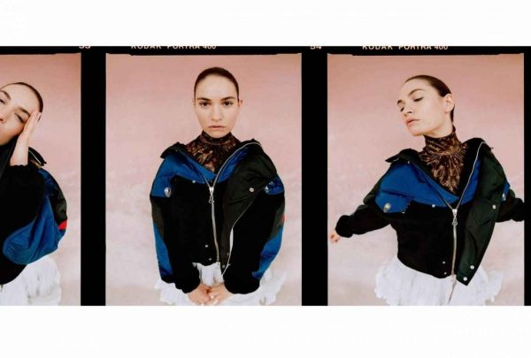 Lily James The Laterals Magazine Winter 2020 Issue 05 05