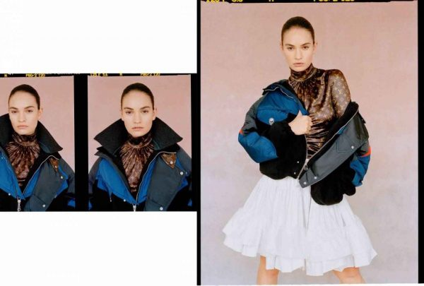 Lily James The Laterals Magazine Winter 2020 Issue 05 06