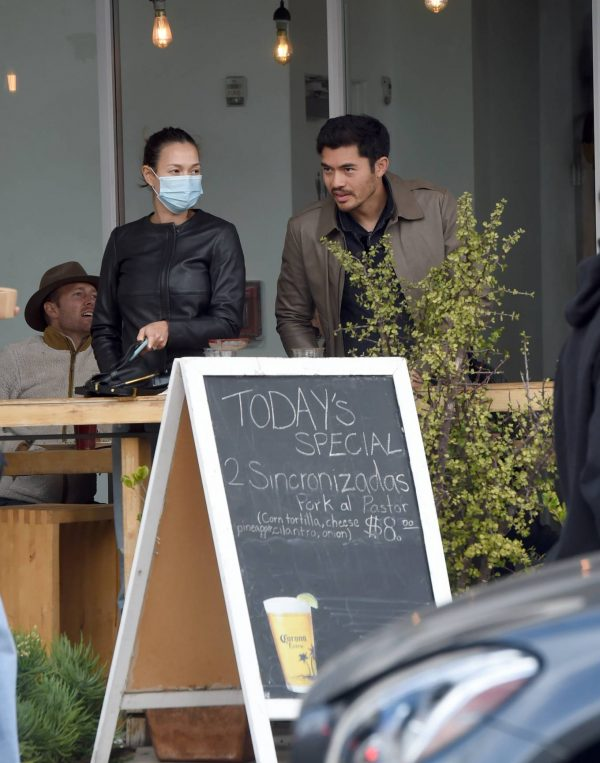 Liv Lo and Henry Golding Spotted in Los Angeles 04