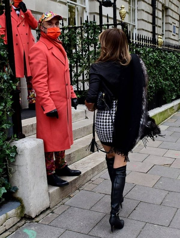 Lizzy Cundy seen out and about in London 01