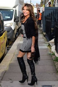 Lizzy Cundy seen out and about in London 02