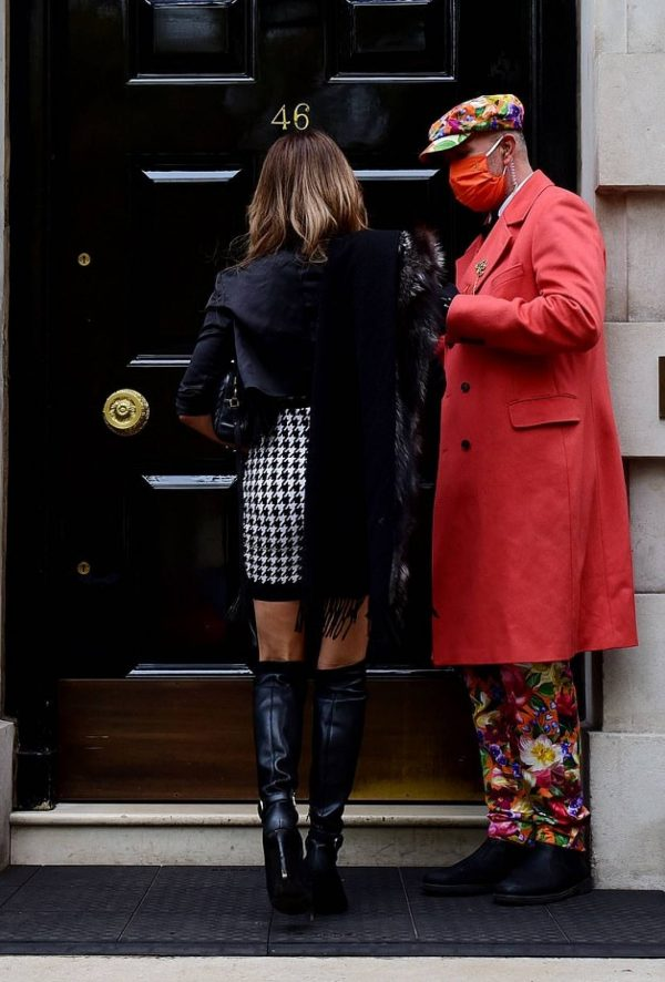 Lizzy Cundy seen out and about in London 05