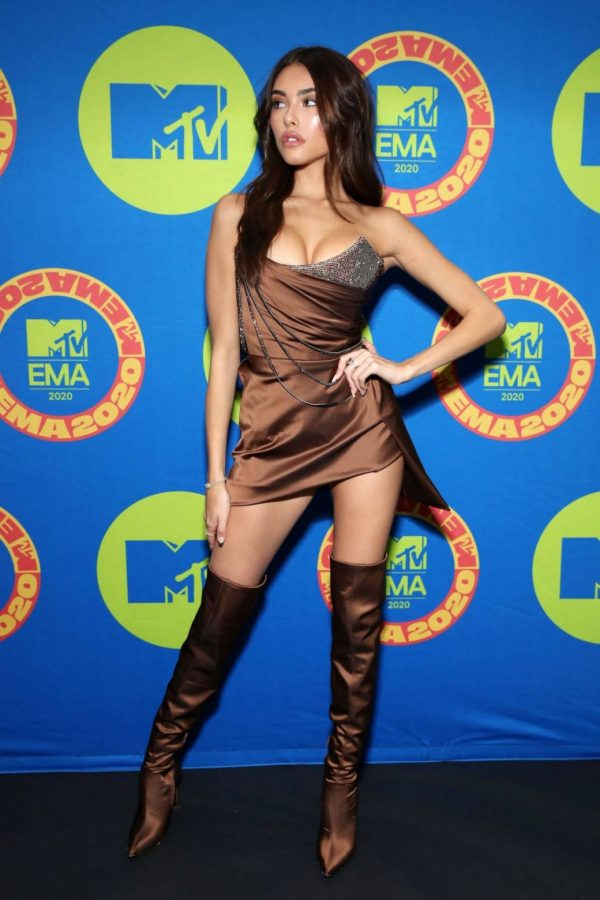 Madison Beer Possing at the 2020 MTV Europe Music Awards in LA 03