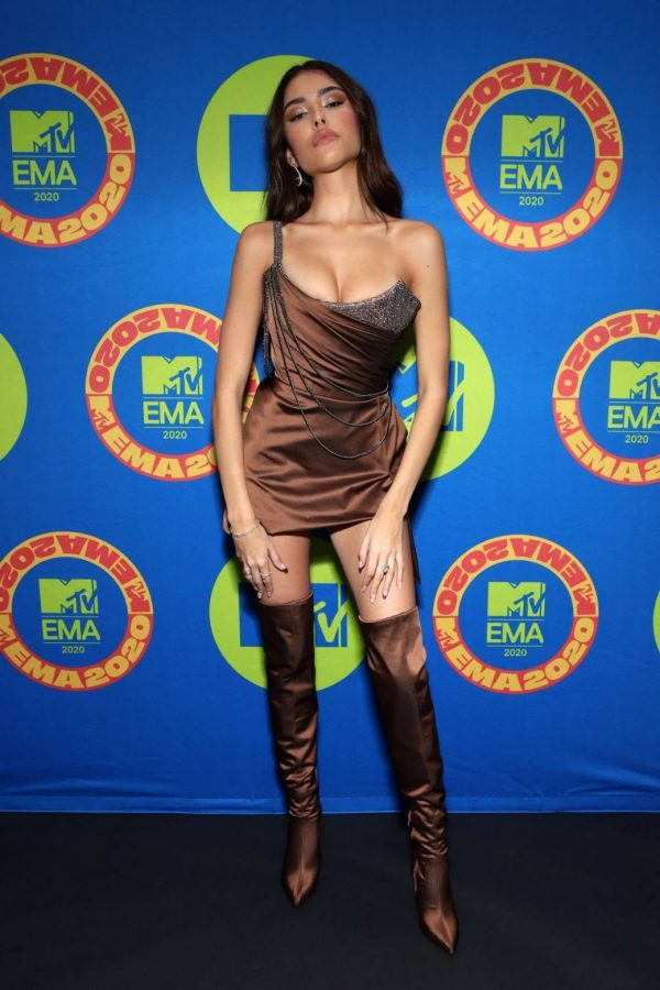 Madison Beer Possing at the 2020 MTV Europe Music Awards in LA 04