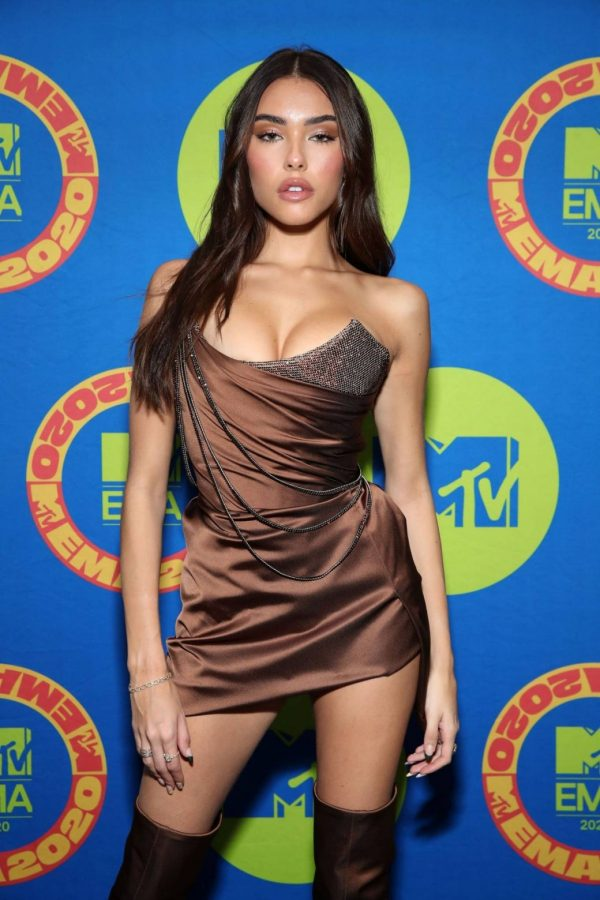 Madison Beer Possing at the 2020 MTV Europe Music Awards in LA 05